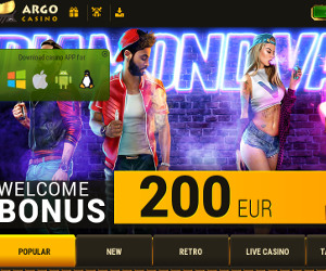 Argo Casino - Premium Bitcoin Casino - Barry