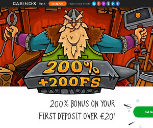 Casino-X - Get FREE Spins Bonus and Win - Sepatan